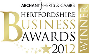 Stockings HQ - winner of the Hertfordshire Business Award