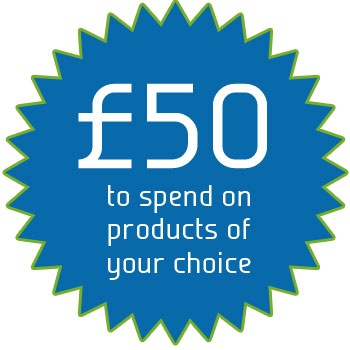 Win £50 to spend on products of your choice in the Stockings HQ shop