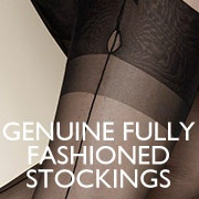 Genuine fully fashioned stockings