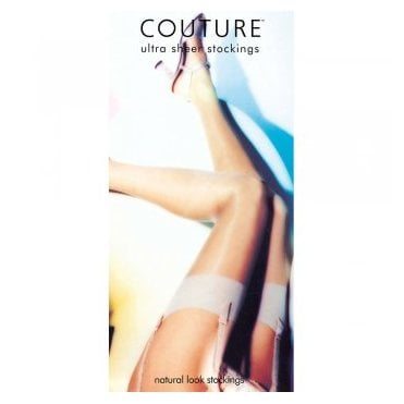 Couture 100% nylon sheer stretch stockings