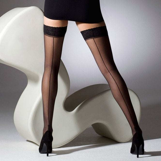 Gipsy 1054 cuban heel seamed hold-ups