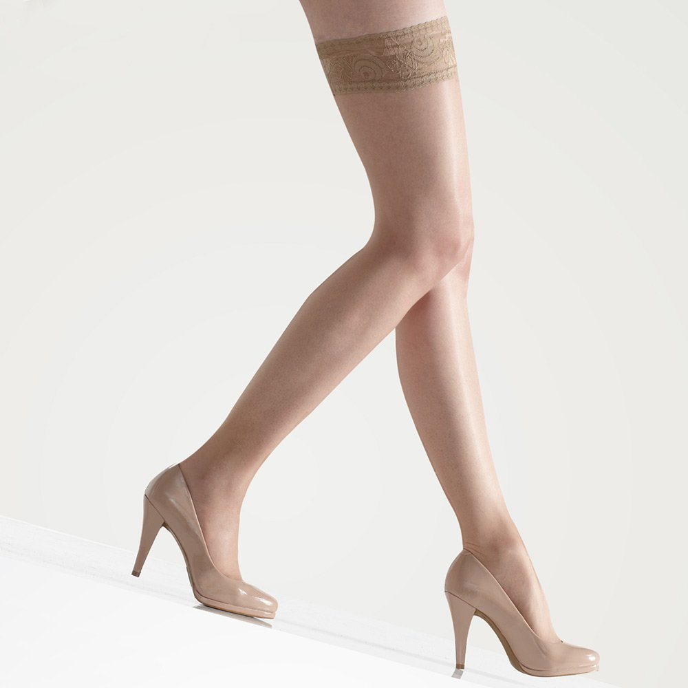 Gipsy 1470 Satin lace top hold-ups