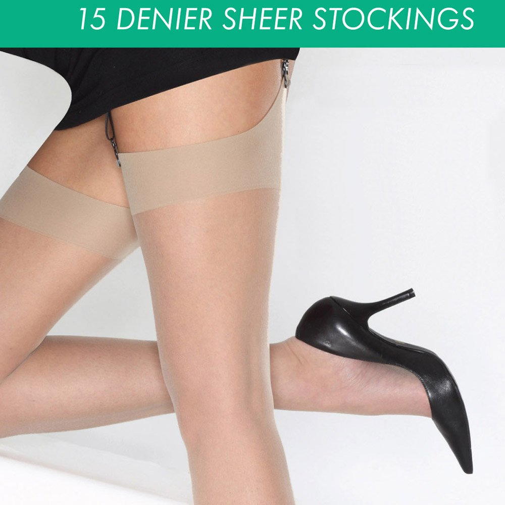 Cindy 15 denier everyday sheer stockings