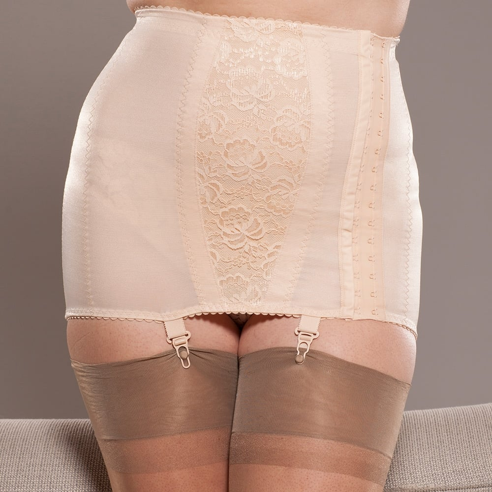 05c69977d Berdita Eva side hook open bottom girdle at Stockings HQ the UK Berdita  foundationwear shop