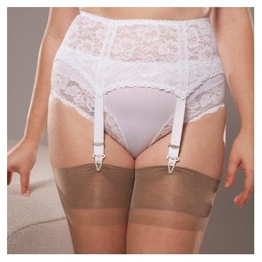 Berdita 24014 Gia four-strap suspender belt