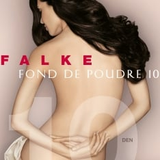 Falke 40024 Fond De Poudre 10 denier transparent matt tights