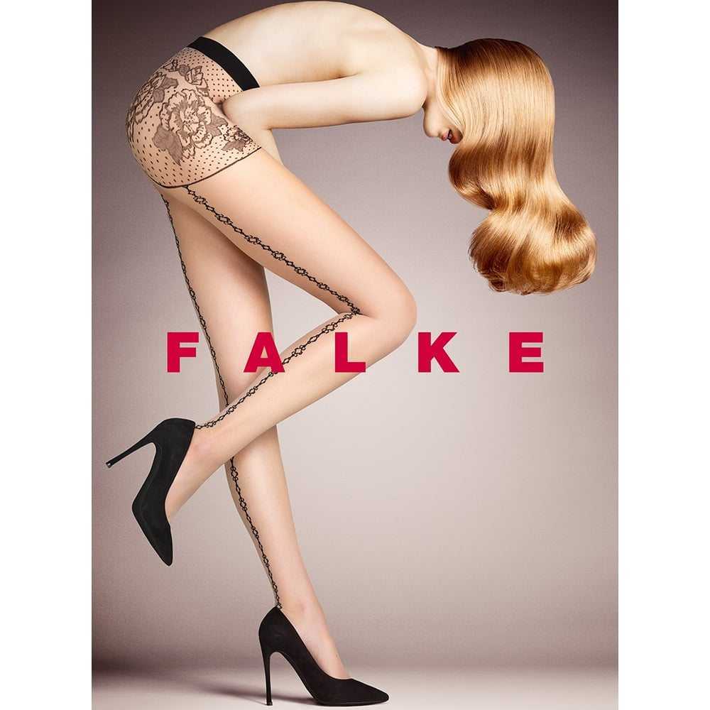Falke 40797 Enchained sheer chain seam tights