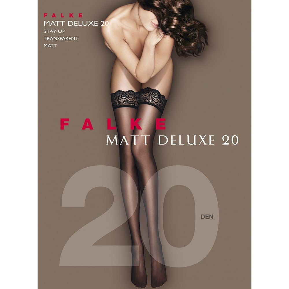 Falke 41520 Matt Deluxe 20 denier transparent matt hold-ups