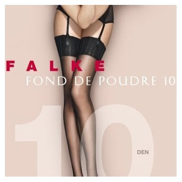 Falke 41522 Fond De Poudre 10 denier transparent matt stockings