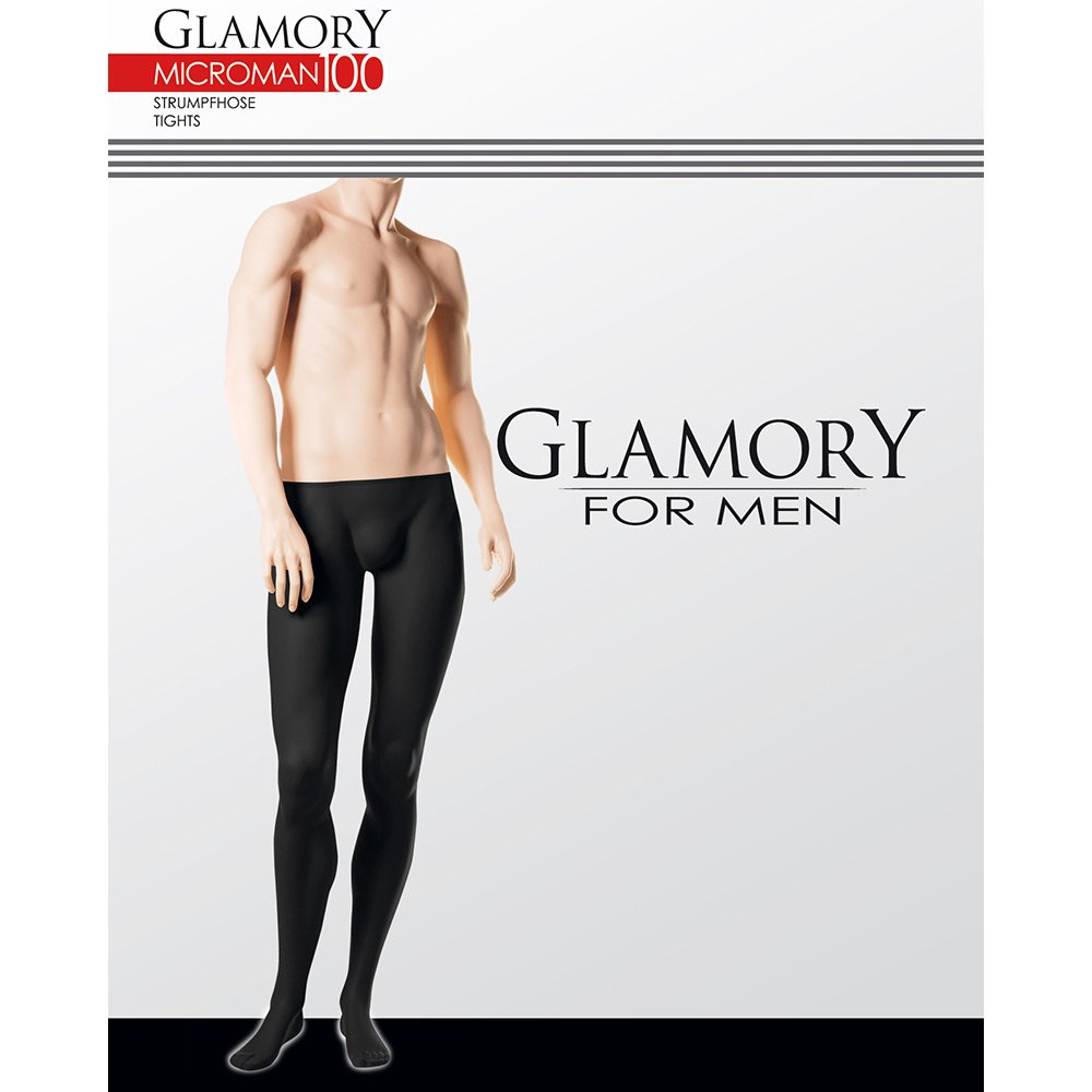 Glamory 50420 Microman 100 tights for men