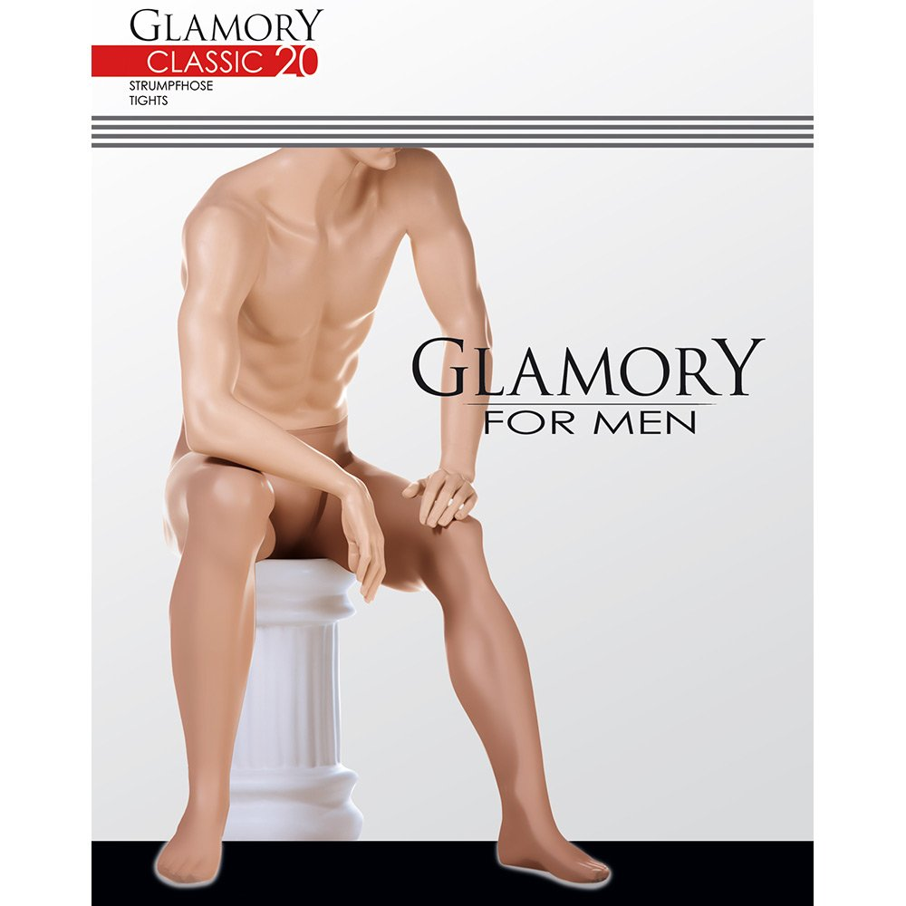 Glamory 50422 Classic 20 tights for men