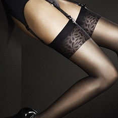 Adora 8 denier ultra-sheer stockings