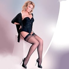 Anika Plus Size stockings