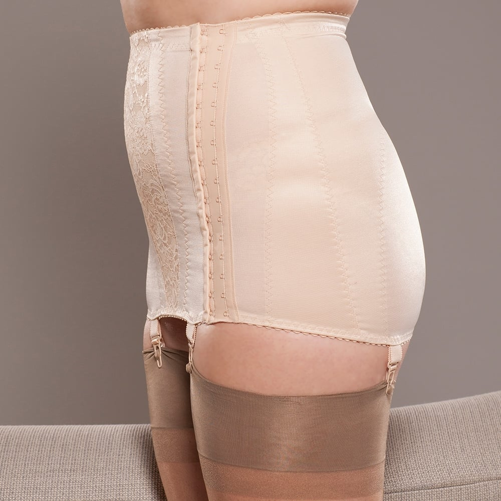 db7760f2e Berdita Eva side hook open bottom girdle at Stockings HQ the UK ...
