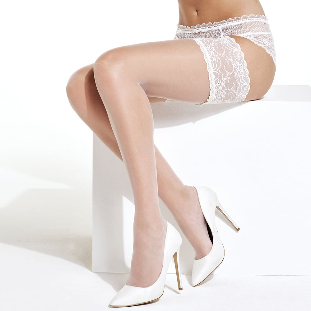 6405711ae95 Charnos Bridal Hold-ups at Stockings HQ  The Charnos Bridal Shop