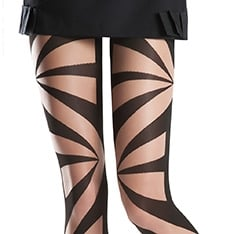 Brooke geometric tights