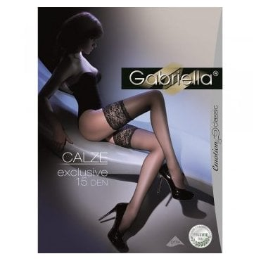 Gabriella Calze Exclusive deep lace hold-ups