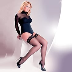 Calze Plus Size hold-ups