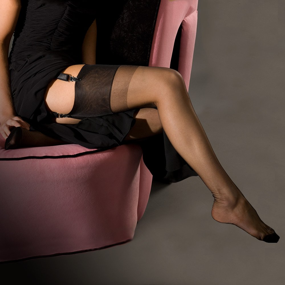 Nylons rht stockings high heels lg 4