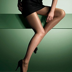 Class gloss sheer 12 denier tights
