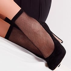 Cool Rete fishnet ankle highs - 2 pair pack