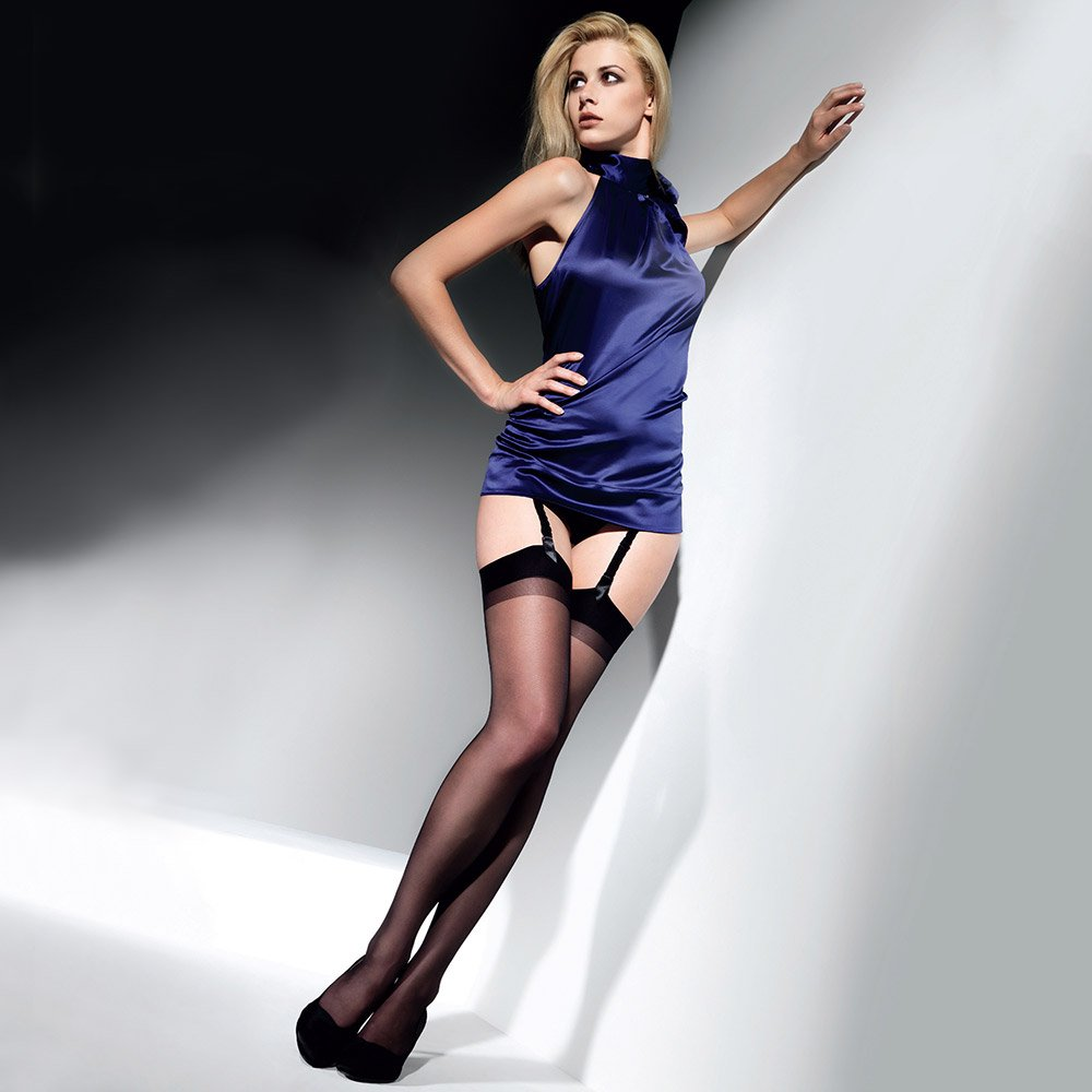 Cette Cristal satin finish stockings