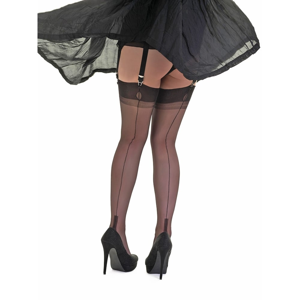 Fully fashioned stockings cuban 67