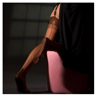 Eleganti Cuban Heel fully fashioned stockings - plain colours - PERFECTS