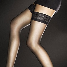 Edith 8 denier ultra sheer hold-ups