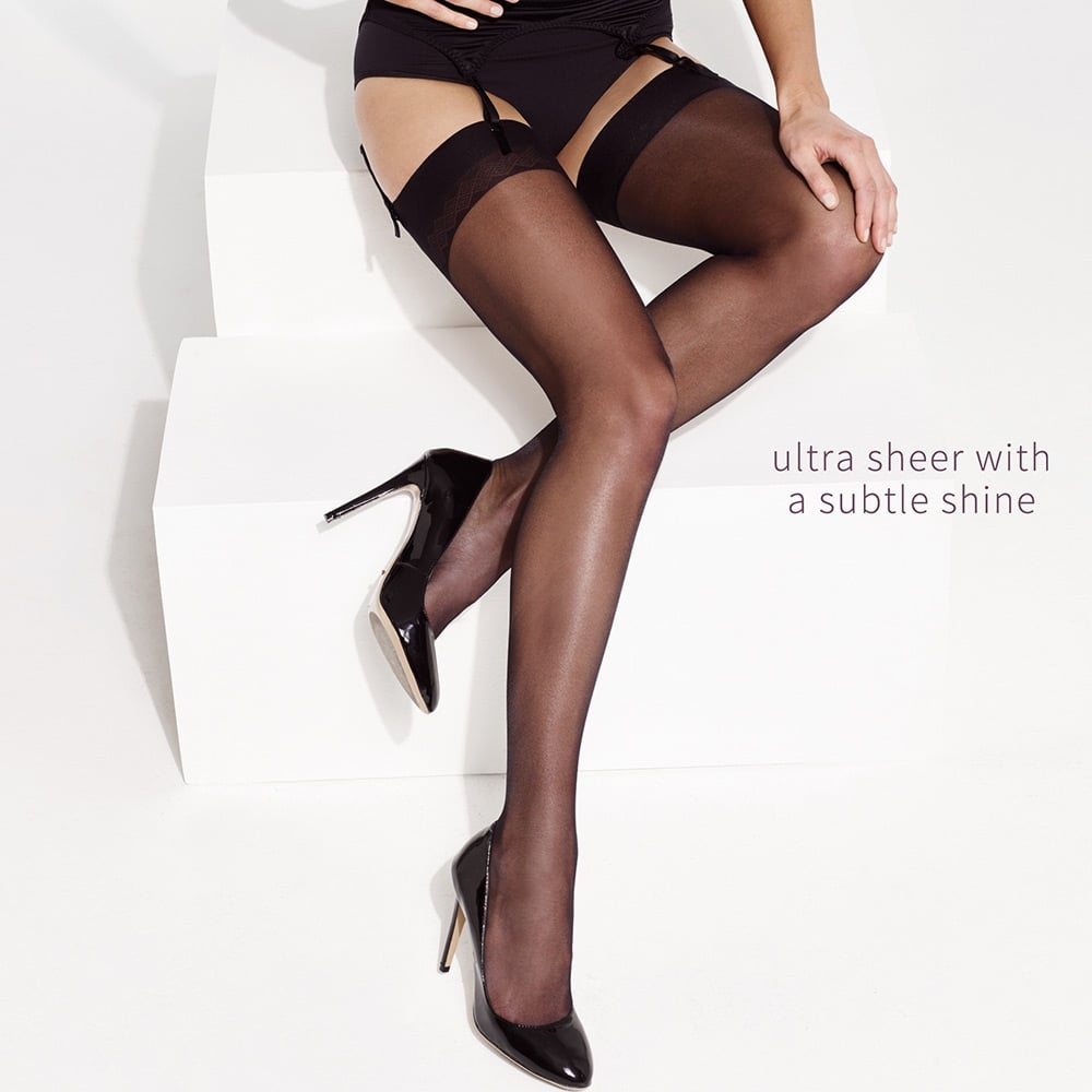 Charnos Elegance ultra-sheer 10 denier stockings