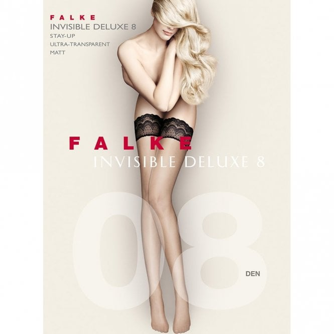 Falke 41560 Invisible Deluxe 8 denier ultra-transparent hold-ups