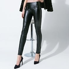 Fez leatherette leggings  - SAVE 15%!