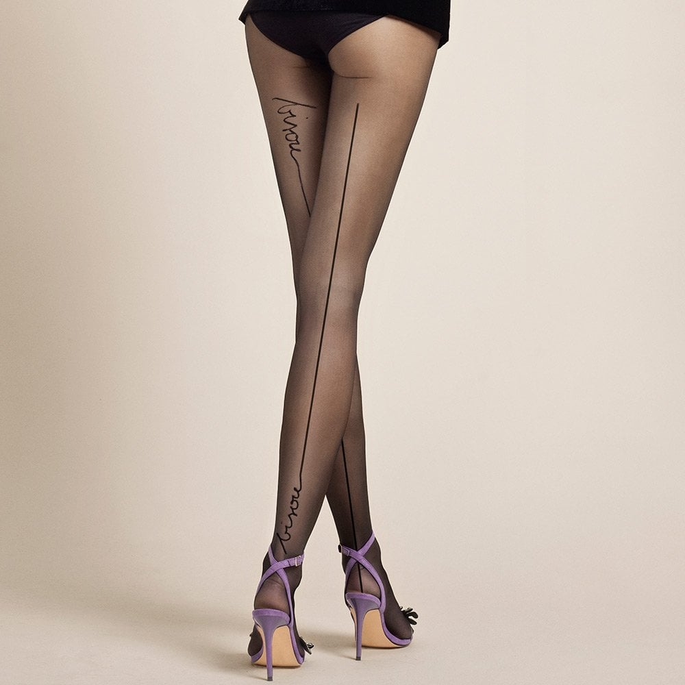fc4001ecb Fiore Bisou French kiss tights at Stockings HQ the Fiore Tights shop
