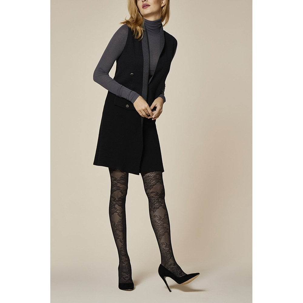 527cebe393da4 Fiore Love Affair floral patterned tights at Stockings HQ the Fiore ...