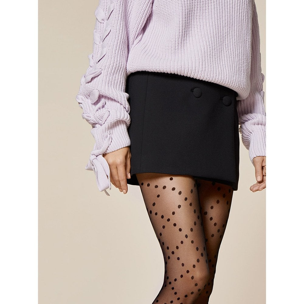 d2d0de1cf Fiore Weave diamond dot patterned sheer tights at Stockings HQ the ...