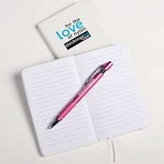 for the love of nylon A6 handbag notebook