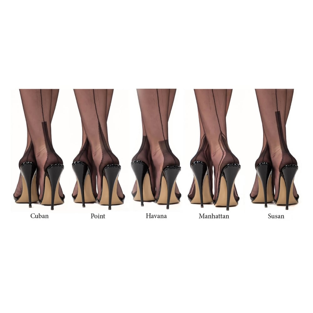 4f1e77933 Gio SECONDS - manhattan heel fully fashioned stockings at Stockings HQ