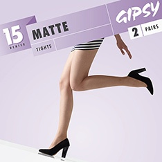 1478 Matte sheer tights - SAVE 67%!