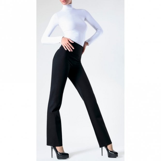 Giulia Leggy Univers model 2 cut-and-sewn flared leggings