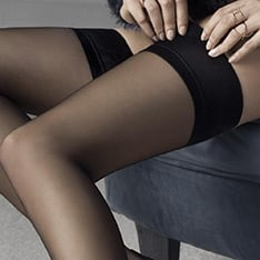 Glam plain top hold-ups
