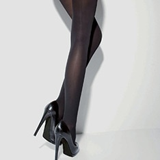 Grace 3D microfibre opaque tights