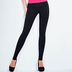 Leggy model 1 cut-and-sewn leggings