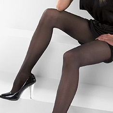 Libra 40 denier microfibre opaque tights