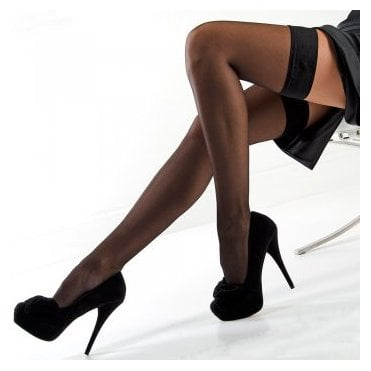 Nylonica Linea Classica Sheer 15 plain top hold-ups