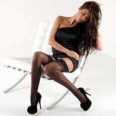 Linea Classica Sheer 15 stockings - classic colours