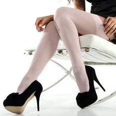 Linea Lusso Microfibre 55 opaque stockings - end of line colours - SAVE 50%!