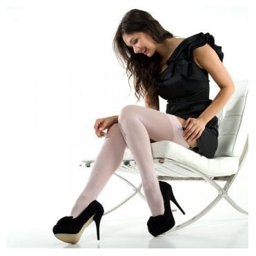 Nylonica Linea Lusso Microfibre 55 opaque stockings - end of line colours - SAVE 50%!