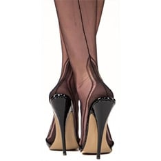 Manhattan heel fully fashioned stockings