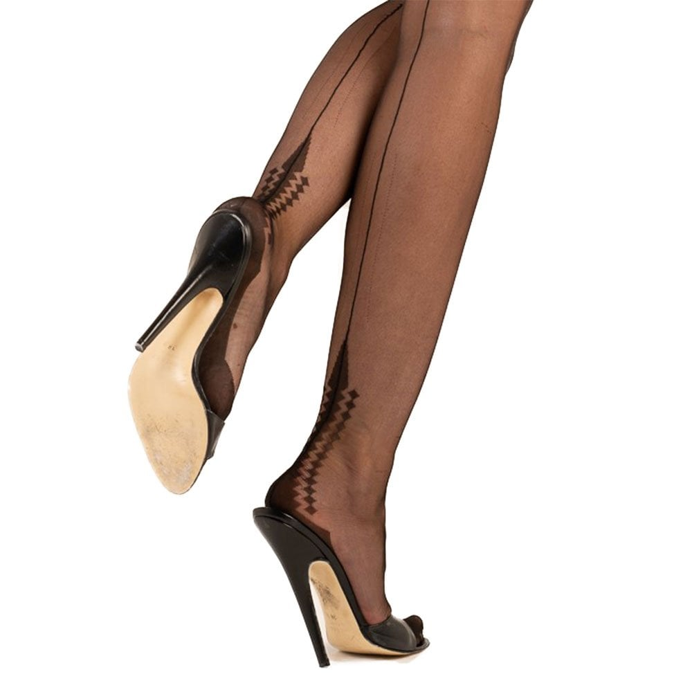 464722db268 Gio Harmony Point fully fashioned stockings at Stockings HQ  The FF Shop