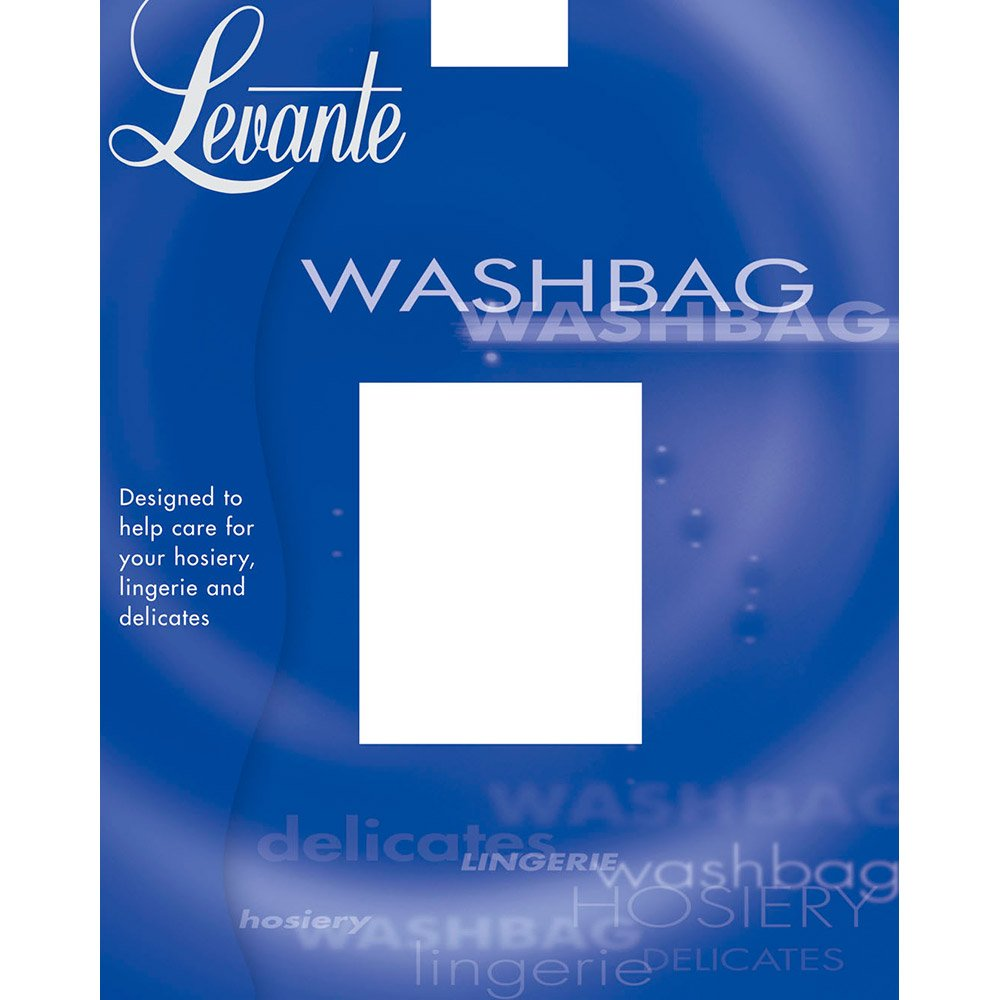 Levante Mesh Wash Bag with zip fastening